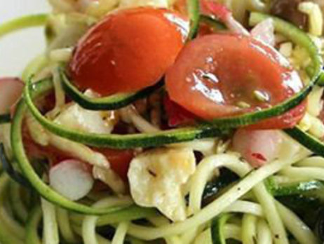 Foodtrend: Courgetti