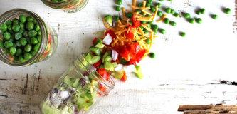 Foodtrend: Salad in a Jar